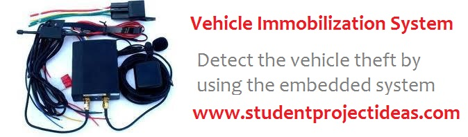 detect the vehicle theft by using the embedded system