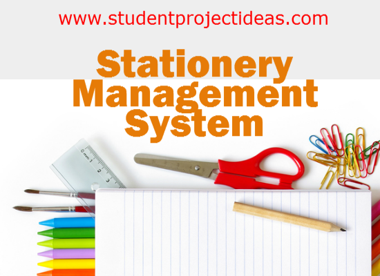 Stationery Management System in PHP
