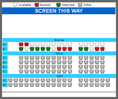 Android Movie Ticket booking App