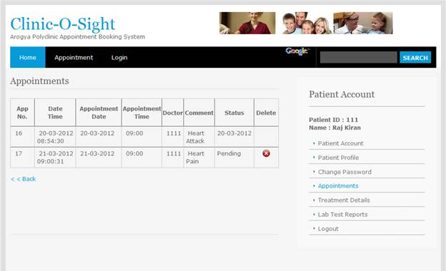Appointment Booking System Project in PHP