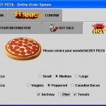 Pizza Ordering System