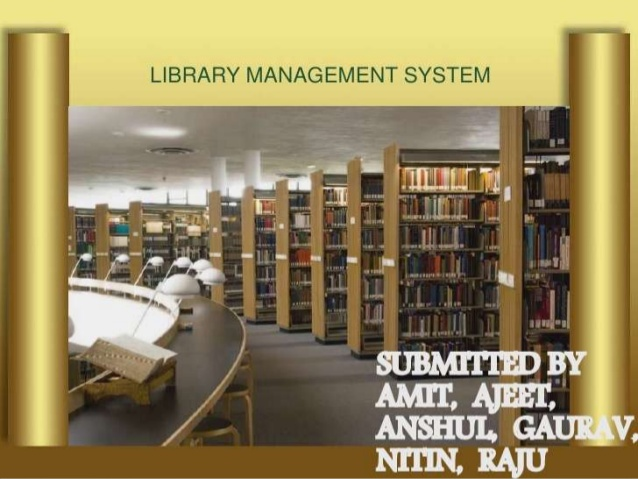 Detailed Design Document For Library Management System