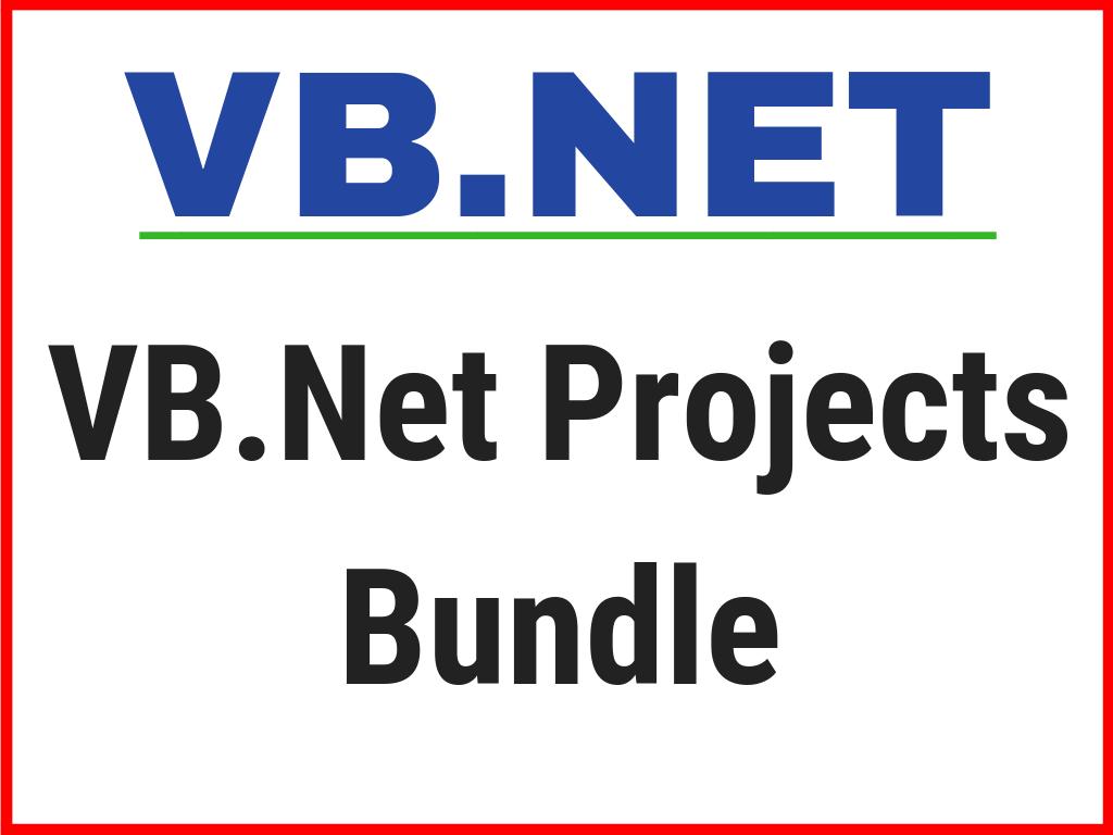 VB.NET Projects bundle
