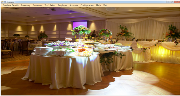 Catering Management System Project Report