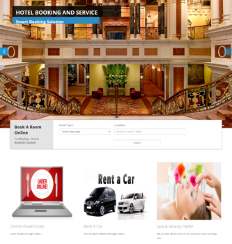 Hotel Booking and Service portal